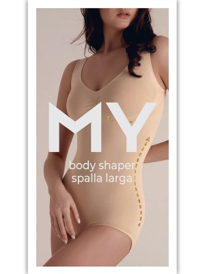 MY Боди женское BO117 BODY SHAPER SPALLA LARGA в